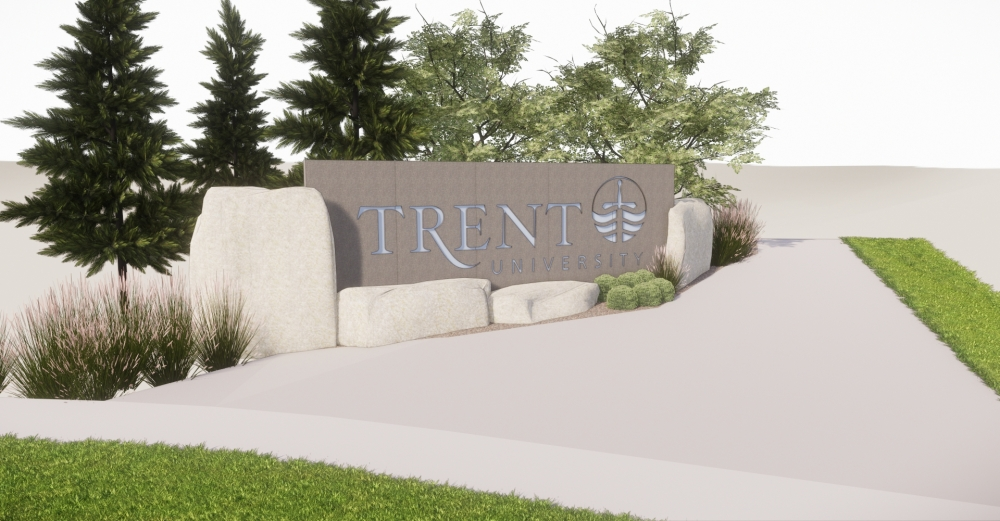 Trent Main Sign View 1
