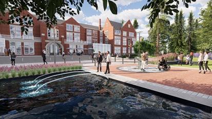 Lang Plaza – ConceptDesign